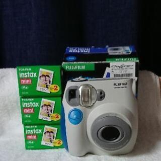 可動確認済み instax mini7s チェキ インスタントカメラ