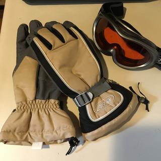 男性用 ゴーグル&手袋