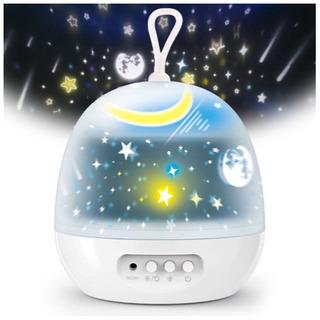 ⭐️投影ランプ スタープロジェクター 星空ライト 寝かしつけ用お...