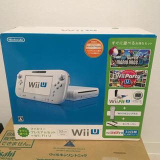 WiiU本体セット ファミリープレミアムセット ☆ソフト+リモコ...