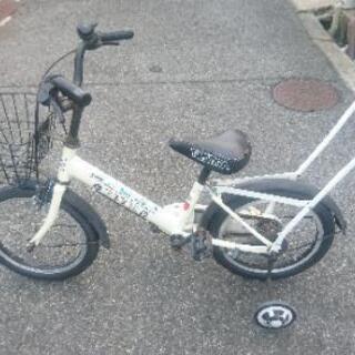 子供用 トミカ自転車 16インチ 補助車付