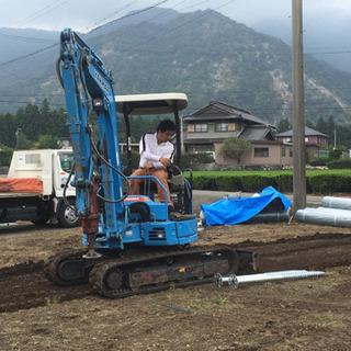 (日払い・週払い可能)ユンボ重機オペ【¥16000以上❗️】中村区現場 3名限定の画像