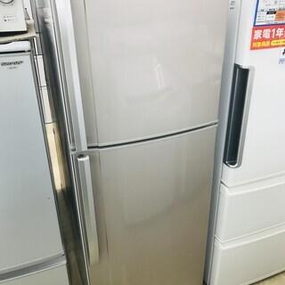 6ヶ月間動作保証付  2011年製 SHARP 2ドア冷蔵庫 【...