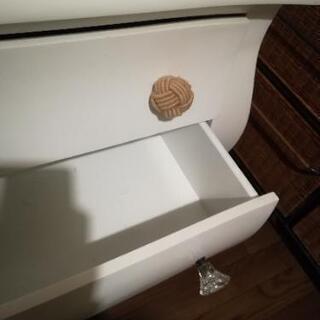 アンティーク白家具chest