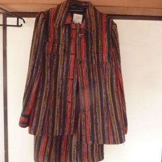 11号サイズ レトロ 冬用スーツ