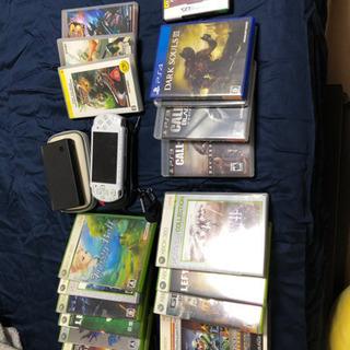 【受け渡し済み】DS、PSP、Xbox、PS3、PS4のソフト詰...