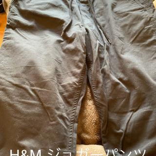 H&M ジョガーパンツ L 黒