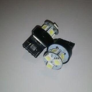 値下げ8発 T20 LED SMD 2個 ホワイト ダブル…