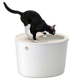 未使用 ネコ用システムトイレとトイレ砂