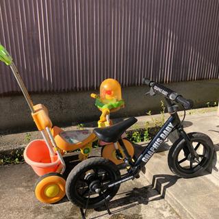 ペダルなし自転車 三輪車 セット ストライダー