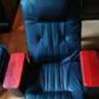 最後の値下げです❗リクライニング回転レザー座椅子2個セット