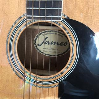 James JF350NA アコースティックギター - 楽器