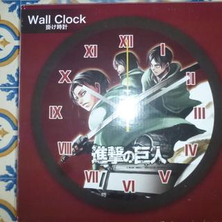 読売新聞 進撃の巨人 壁掛け時計
