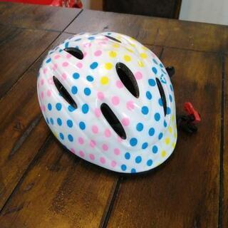 【中古】幼児 児童用ヘルメット 49~54cm 美品 自転車