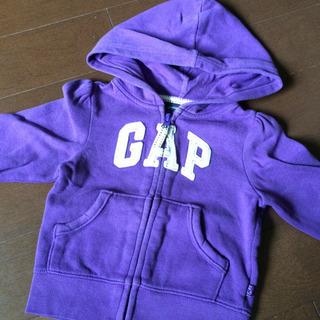 《‼️値下げ‼️》 babyGAP パーカ 90 紫