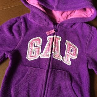 《‼️値下げ‼️》 babyGAP パーカ 90 紫 フリース