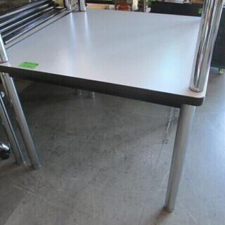 【引き取り限定】90cm角 テーブル ミーティングテーブル