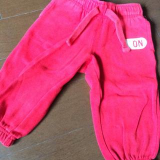 《‼️値下げ‼️》 OLDNAVYオールドネイビー 赤 ズボン ...