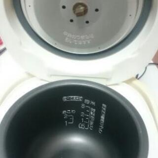 象印3合炊き 炊飯器(ジャンク品ですが今朝も炊きました!)