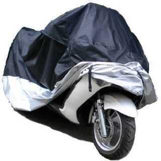 【送料無料】新品 1番大きめ バイクカバー 防水 防塵 シ…