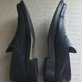 タケオキクチ本革靴(27cm)