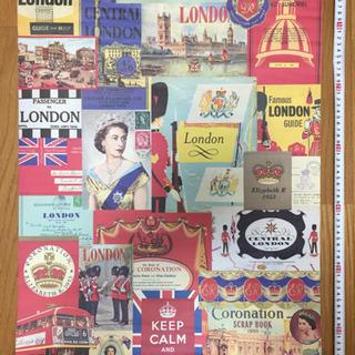 ハロッズのイギリスポスター