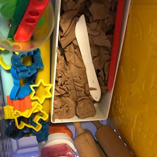 寒天粘土&粘土板、麺棒、抜き型等【約半量になりました】 - おもちゃ