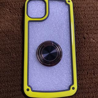 iPhone11リング付きスマホケース