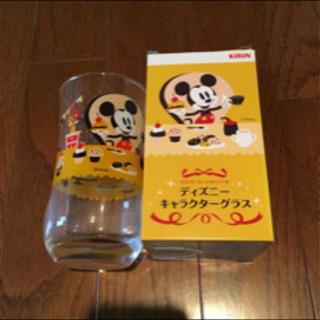 プーさんとミッキーのグラス