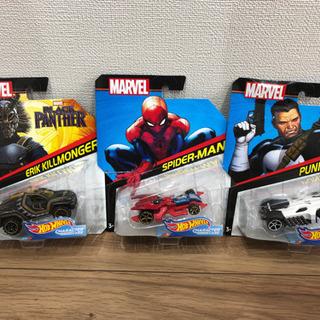 スパイダーマン ミニカー新品