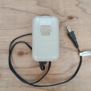 アクアリウム用品 エアポンプ shizuka4000w