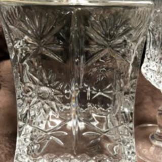 ボヘミアデカンター&グラス3点セット