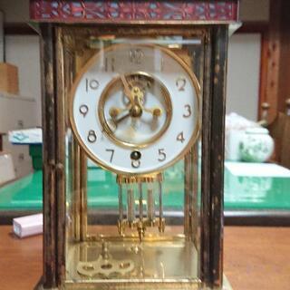 アンティーク 七宝装飾置時計【Nマーク】