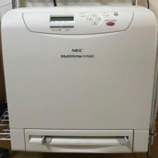 NECレーザープリンタc5750(ジャンク) トナーc5700(...