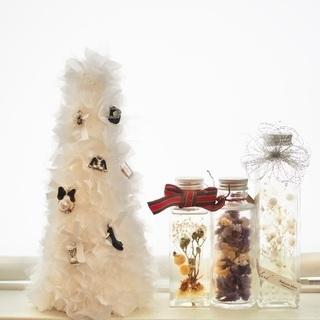 【埼玉上尾】クリスマスにもぴったり!ファブリックタワー&ボールペ...