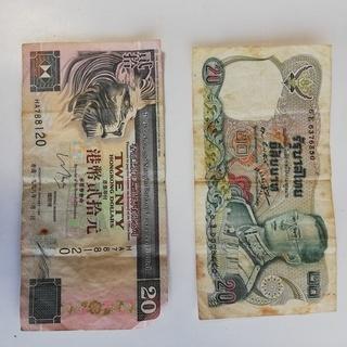 古い外国 硬貨