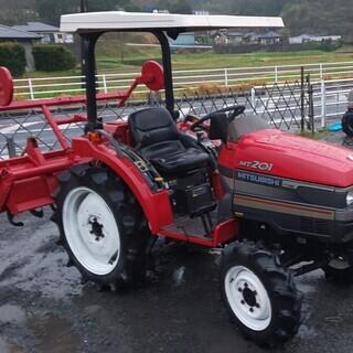 三菱 20馬力ディーゼルエンジントラクターMT201 パワステ ...