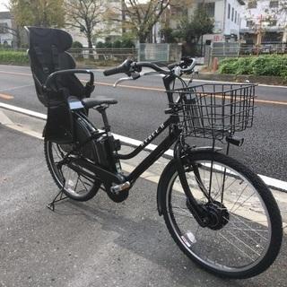 ブリヂストン子供乗せ電動自転車 ハイディII クロツヤケシ HY...
