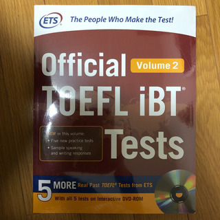 official TOEFL iBT Tests volume2