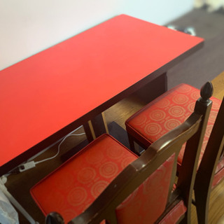 テーブル 椅子2つセット