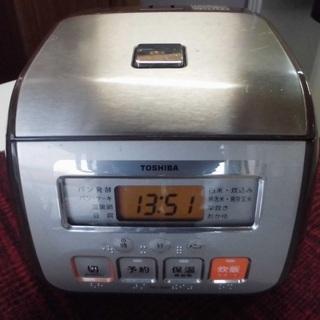 JM5219)TOSHIBA/東芝 マイコン保温釜 炊飯器…