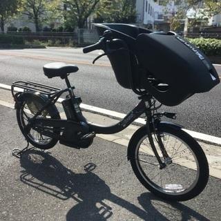 ヤマハ子供乗せ電動自転車 パス キッスミニアン マットブラック ...