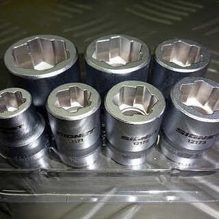シグネット 12187 ボルトリムーバー 7本セット 3/8DR
