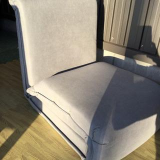折りたたみ 座椅子 (寝れる座椅子)グレー