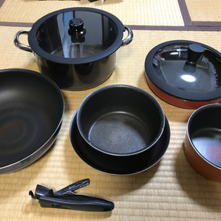 ティファールの鍋とフライパン