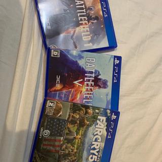 PS4 ソフト ファークライ、バトルフィールド
