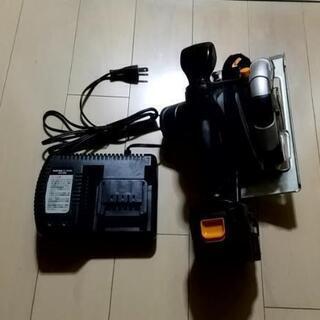 PAOCK12V充電式木工用丸のこ