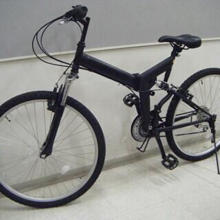 折りたたみ自転車 マウンテンバイク ロードバイク 黒