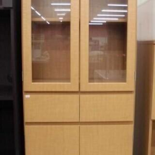 食器棚 幅60×奥行30×高さ175cm セパレート 木目調食器...