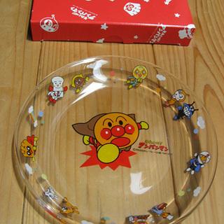 粗品にも   アンパンマン ガラス製 デザートプレート 20枚
